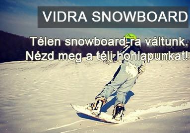 Vidra snowboard